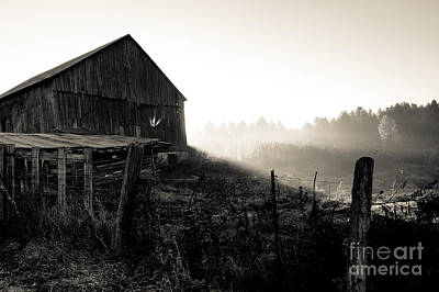 Photograph - Dramatic Farm Sunrise by Cheryl Baxter