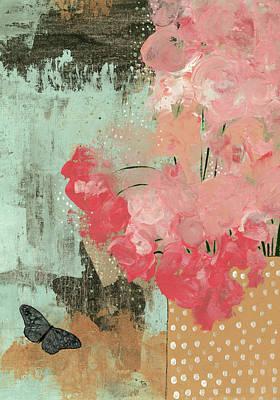 Wall Art - Painting - Dramatic Flowers II by Sarah Ogren