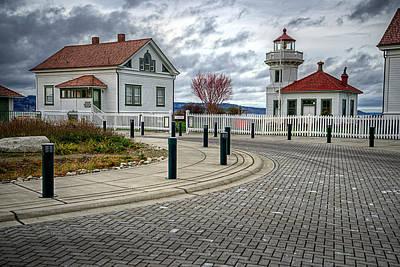 Photograph - Dramatic Mukilteo Lighthouse by Spencer McDonald