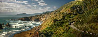 Photograph - Dramatic Northern California Coastline by Ed Freeman