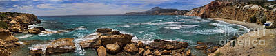 Photograph - Dramatic Ocean Panorama On Milos Island Greece by David Smith