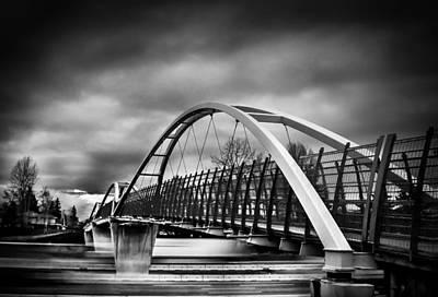 Road Photograph - Dramatic Overpass by Eva Kondzialkiewicz