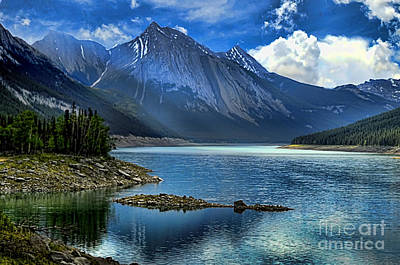 Photograph - Dramatic Rockies by Brenda Kean