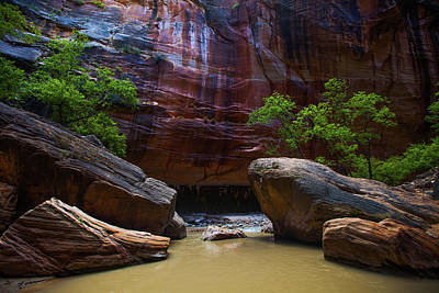 Photograph - Dramatic Sandstone Formations by Ben Horton