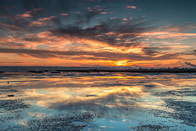 Photograph - Dramatic Shoreline Sunset by Pierre Leclerc Photography