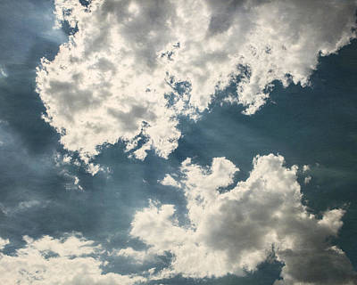 Dark Navy Blue Photograph - Dramatic Skies by Lisa Russo
