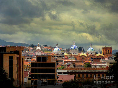Immaculate Photograph - Dramatic Skies Over Cuenca by Al Bourassa