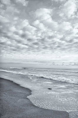Photograph - Dramatic Beach Scene by Marianne Campolongo