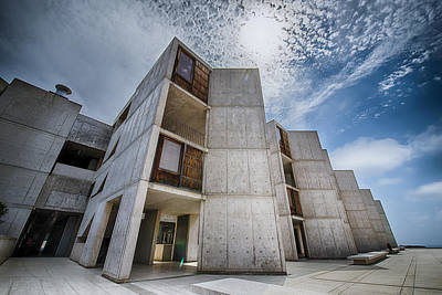 Photograph - Dramatic Sky At The Salk by Alan Roberts