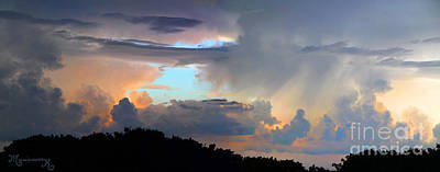 Photograph - Dramatic Sky by Mariarosa Rockefeller