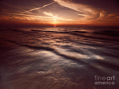 Pinery Photograph - Dramatic Sunset At Lake Huron Grand Bend by Oleksiy Maksymenko