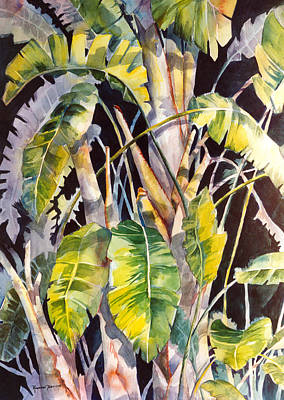 Painting - Dramatic Tropics by Roxanne Tobaison