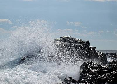 Sean Rights Managed Images - Dramatic Waves at Hacienda Encantada Royalty-Free Image by Barbie Corbett-Newmin