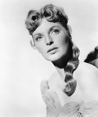 1957 Movies Photograph - Drango, Julie London, 1957 by Everett