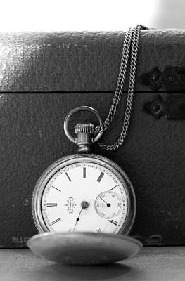 Photograph - Draped Pocket Watch by CJ Rhilinger