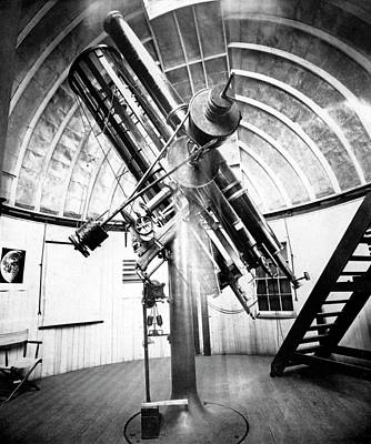 1870s Photograph - Draper's 28-inch Telescope by Royal Astronomical Society