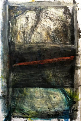 Larry David Painting - Draw The Line by Antonio Ortiz