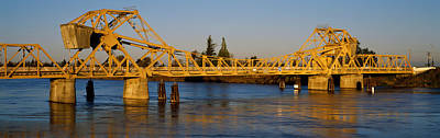 Drawbridge Across A River, The Art Print by Panoramic Images
