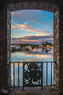 Photograph - Drawbridge Sunset by Glenn Feron