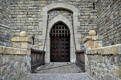 Photograph - Drawbridge To Castello Di Amorosa by Gina Savage