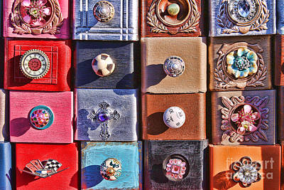 Photograph - Drawers And Their Pulls by Audreen Gieger