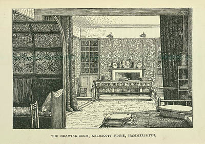Drawing Room Art Print by British Library