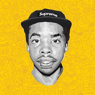 Draw Photograph - Drawing That I Made Of Earl Sweatshirt by Liam Moher
