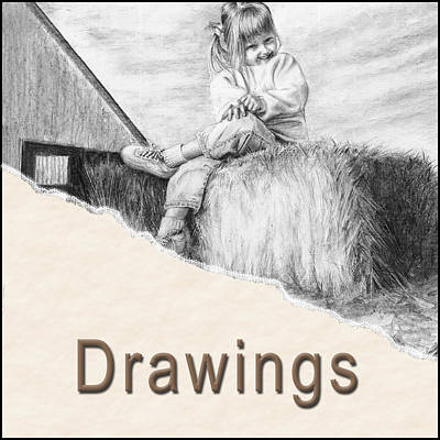 Drawing - Drawings Button by Arthur Fix