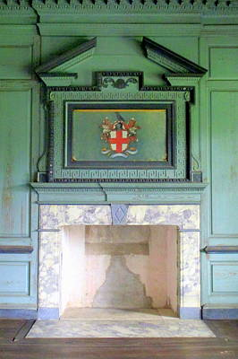 Drayton Fireplace 5 Art Print