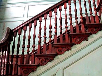 Drayton Hall Photograph - Drayton Staircase 2 by Randall Weidner