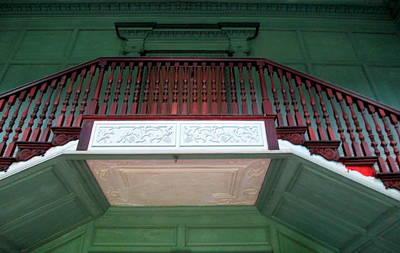 Drayton Hall Photograph - Drayton Staircase 3 by Randall Weidner