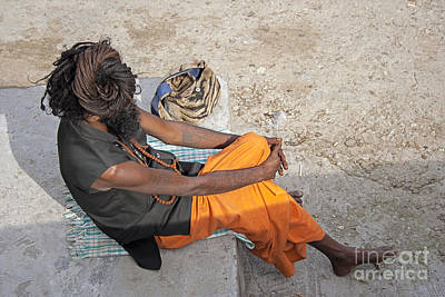 Photograph - Dreads Of Sadhu by Hitendra SINKAR