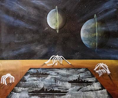 Dream 18 Art Print by Cedric Chambers