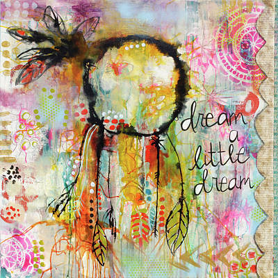 Catcher Painting - Dream A Dream by Denise Braun