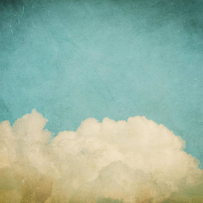 Cloud Photograph - Dream A Little Dream by Violet Gray