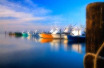 Oregon Inlet Photograph - Dream Boats - Outer Banks by Dan Carmichael