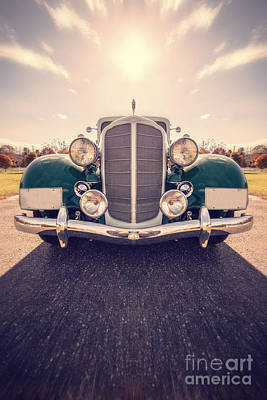 Vintage Cars Photograph - Dream Car by Edward Fielding