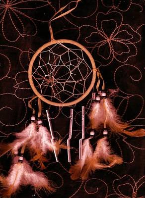 Dream Catcher Art Print by Anne-Elizabeth Whiteway