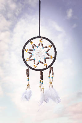 Indigenous Photograph - Dream Catcher by Amanda Elwell