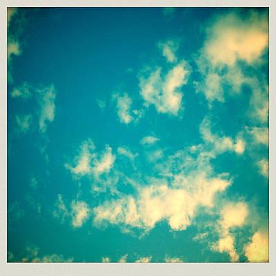 Cloudscape Digital Art - Dream Clouds by Georgia Fowler
