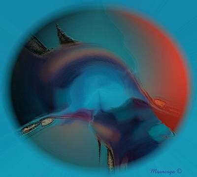 Dream  Eye Art Print by Ines Garay-Colomba