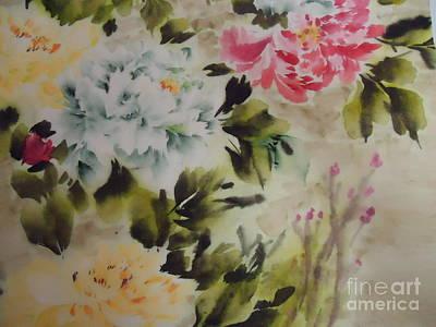 Dream  Flower 0727-4 Art Print