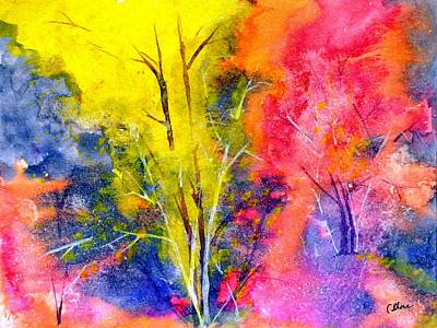 Dream Forest 16x12 Art Print by Christine Shore