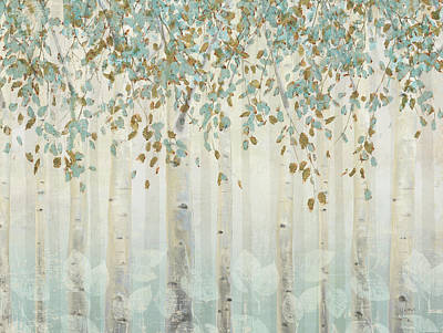 Gild Painting - Dream Forest I by James Wiens