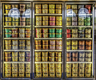 Glass Photograph - Dream Fridge by Scott Norris