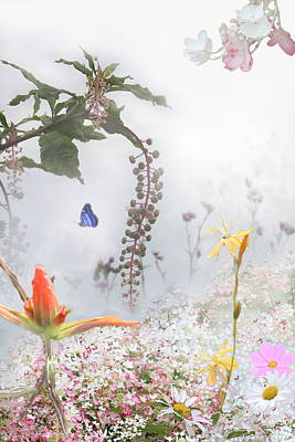 Mixed Media - Dream Garden 2 by Kume Bryant