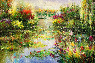 Zen Painting - Dream Garden by Georgiana Romanovna