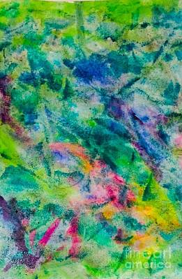 Painting - Dream Green by Laura Hamill