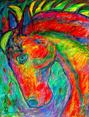 Painting - Dream Horse by Kendall Kessler