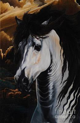 Painting - Dream Horse Series - 001 by Cheryl Poland